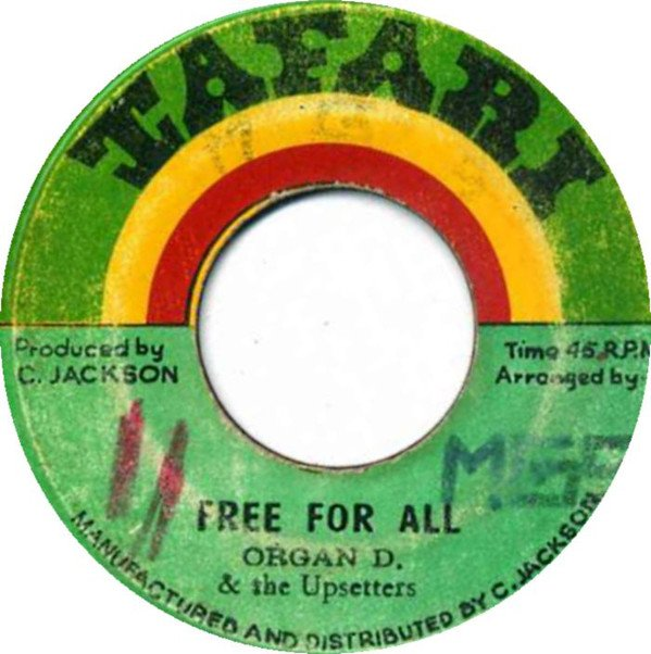 The Upsetters - Free For All / Red Up Paluka