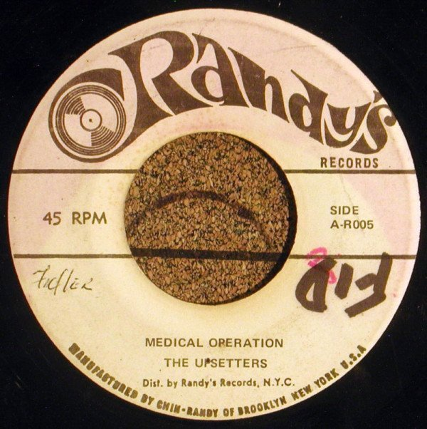 The Upsetters - Medical Operation / Give Me