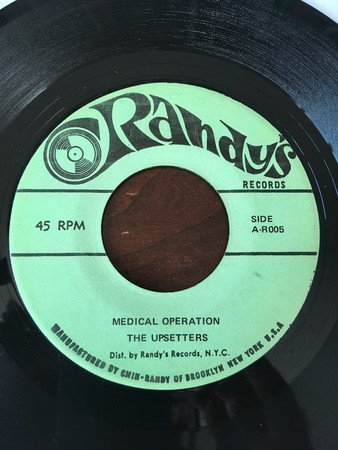 The Upsetters - Medical Operation / What A Situation