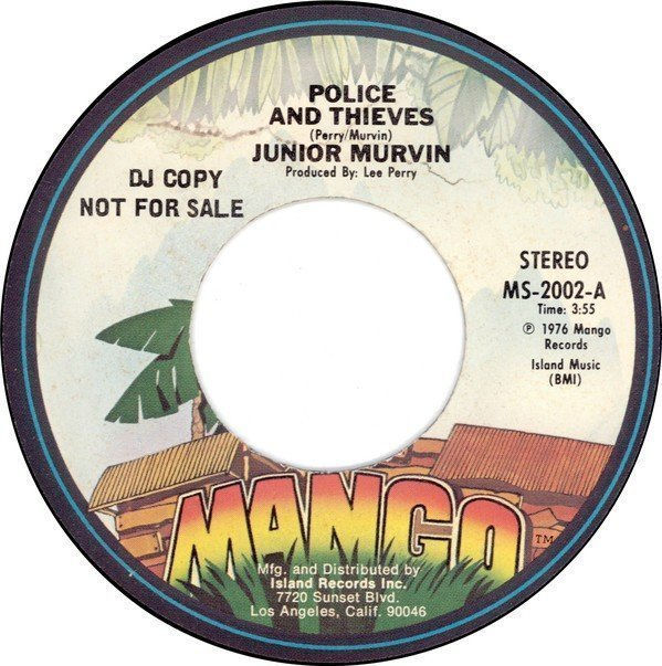 The Upsetters - Police And Thieves / Grumbling Dub