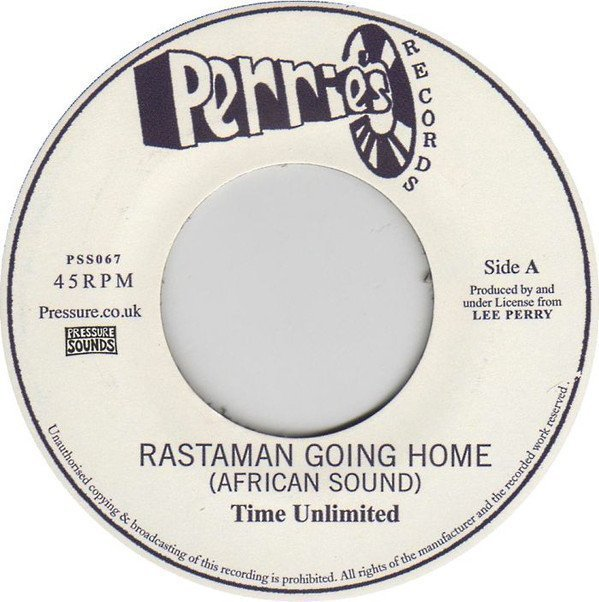 The Upsetters - Rastaman Going Home (African Sound) / Africa Dub
