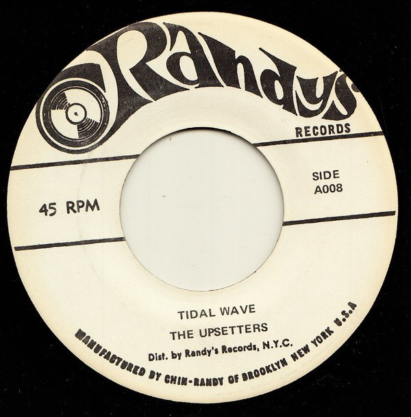 The Upsetters - Tidal Wave / Man From M.I.5