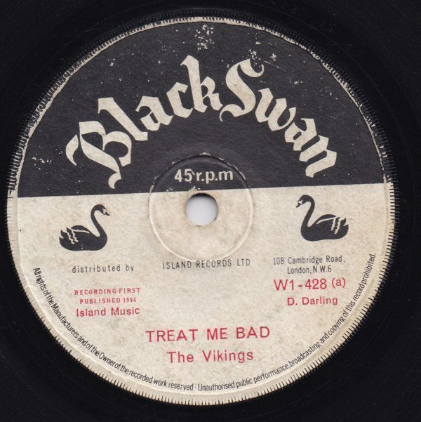 The Vikings - Treat Me Bad / Sitting On Top