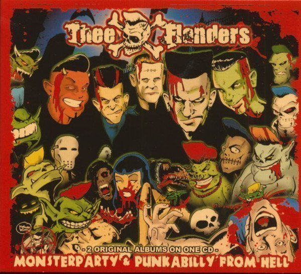 Thee Flanders - Monsterparty & Punkabilly From Hell