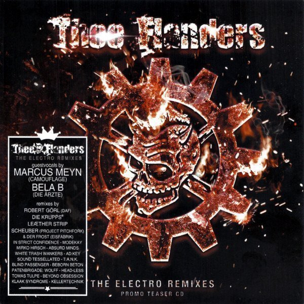 Thee Flanders - The Electro Remixes Promo Teaser CD