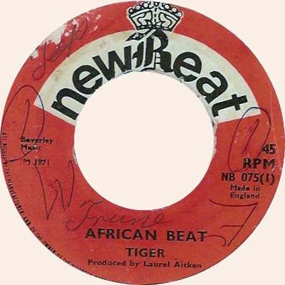 Tiger - African Beat