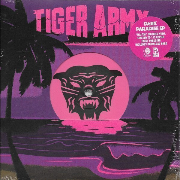 Tiger Army - Dark Paradise EP