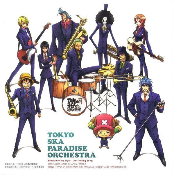 Tokyo Ska Paradise Orchestra - Break Into The Light / The Sharing Song