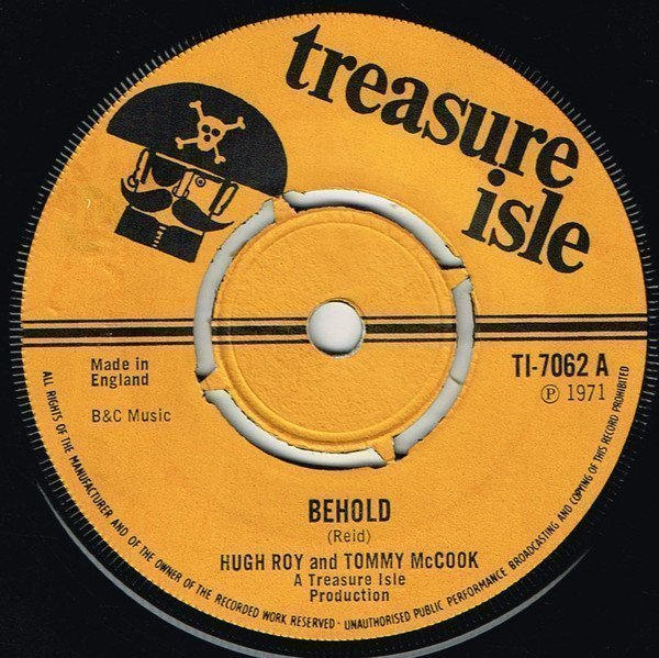 Tommy Mc Cook - Behold / Way Back Home