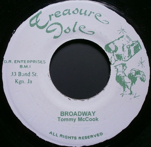Tommy Mc Cook - Broadway / Version Day