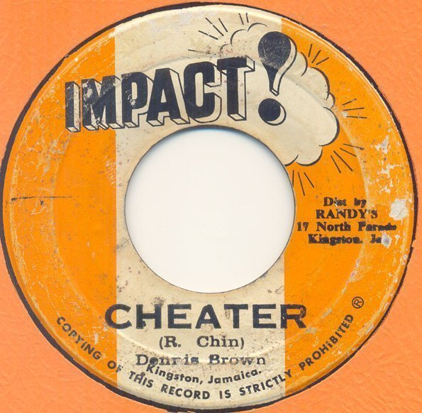 Tommy Mc Cook - Cheater / Harvest In The East