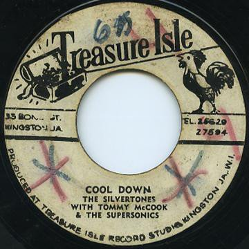 Tommy Mc Cook - Cool Down / Theme From The Sandpiper