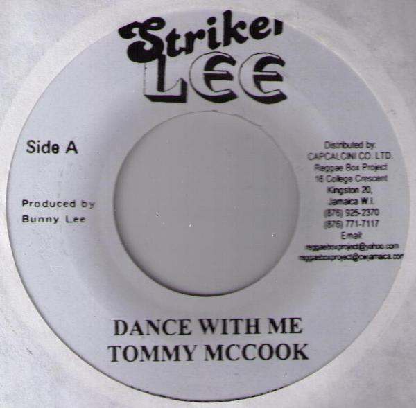 Tommy Mc Cook - Dance With Me / Rock With I