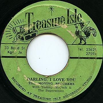 Tommy Mc Cook - Darling I Love You / Saboo