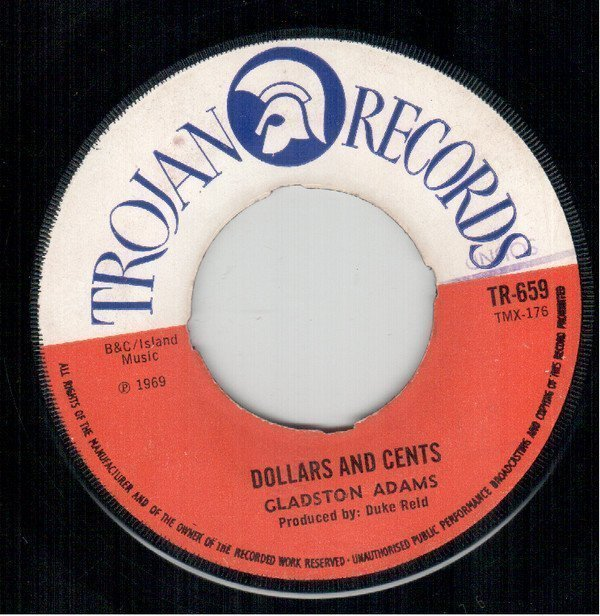 Tommy Mc Cook - Dollars And Cents / Pop Corn Reggae