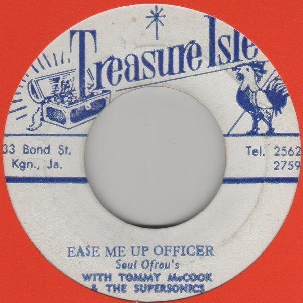 Tommy Mc Cook - Ease Me Up Officer / The Saint