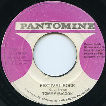 Tommy Mc Cook - Festival Rock