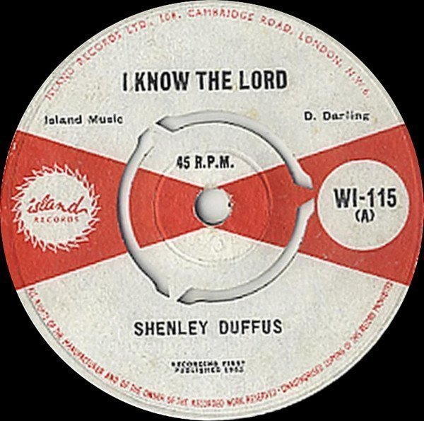 Tommy Mc Cook - I Know The Lord / Ska-Ba