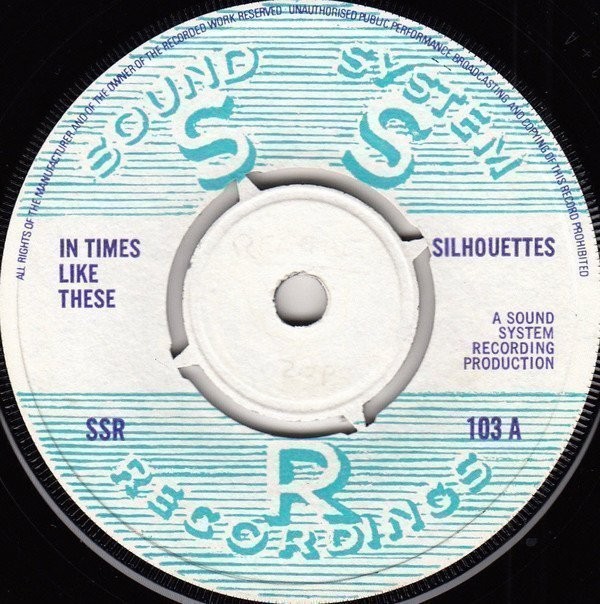 Tommy Mc Cook - In Times Like These / In Times Like These (Instrumental)