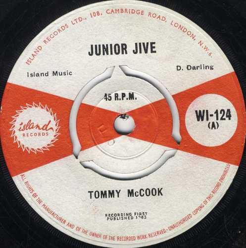 Tommy Mc Cook - Junior Jive / Power
