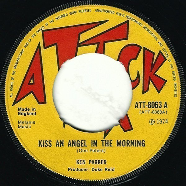 Tommy Mc Cook - Kiss An Angel In The Morning / Inez