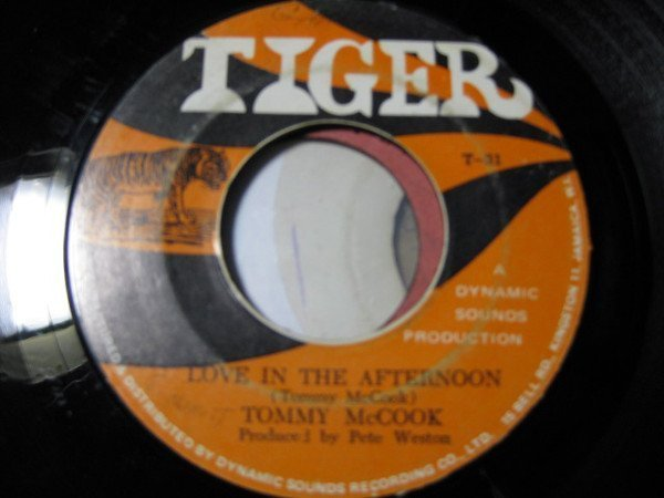 Tommy Mc Cook - Love In The Afternoon