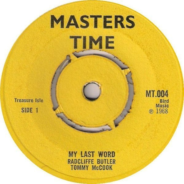 Tommy Mc Cook - My Last Word / Let