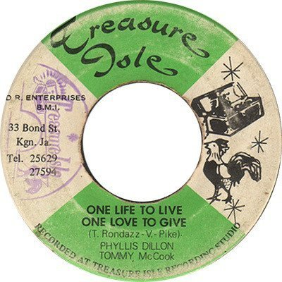 Tommy Mc Cook - One Life To Live One Love To Give / My Best Dress