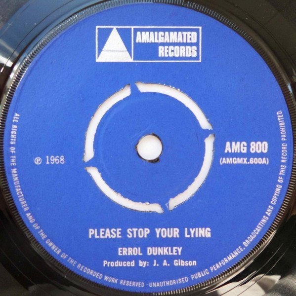Tommy Mc Cook - Please Stop Your Lying / Feel So Fine