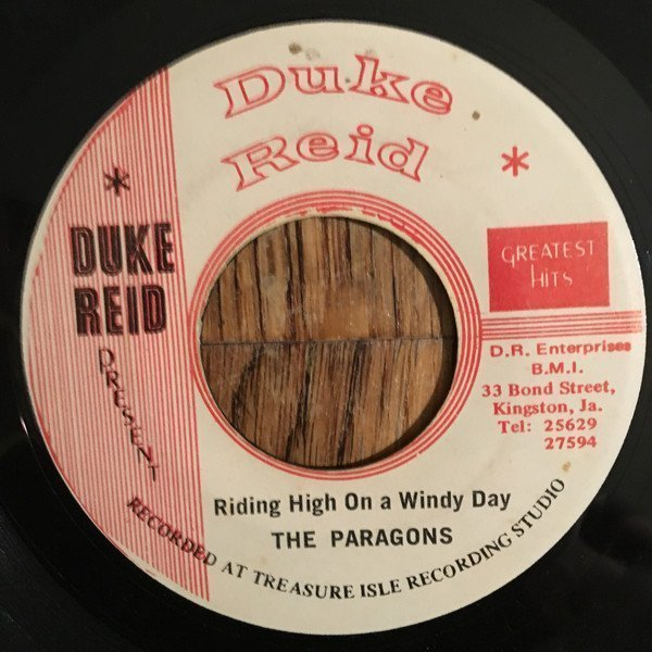 Tommy Mc Cook - Riding On A High And Windy Day / Riding Dub