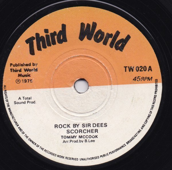 Tommy Mc Cook - Rock By Sir Dees Scorcher / Midnight Special