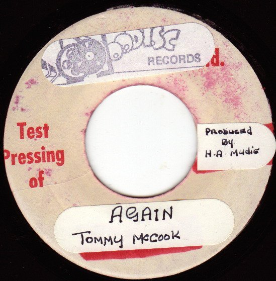 Tommy Mc Cook - Rocking The Drifter / Again