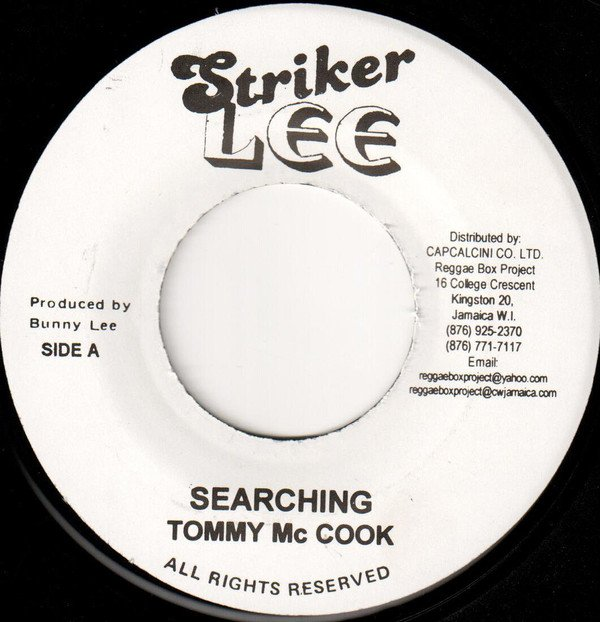 Tommy Mc Cook - Searching