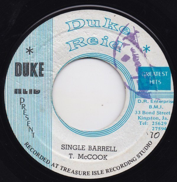 Tommy Mc Cook - Single Barrell / I Can