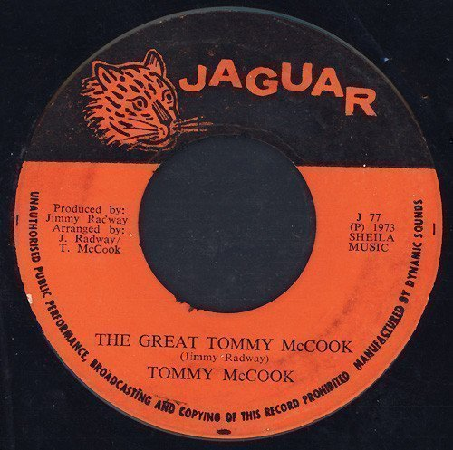 Tommy Mc Cook - The Great Tommy McCook