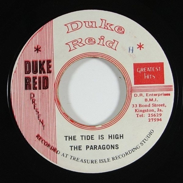Tommy Mc Cook - The Tide Is High / Tide Dub