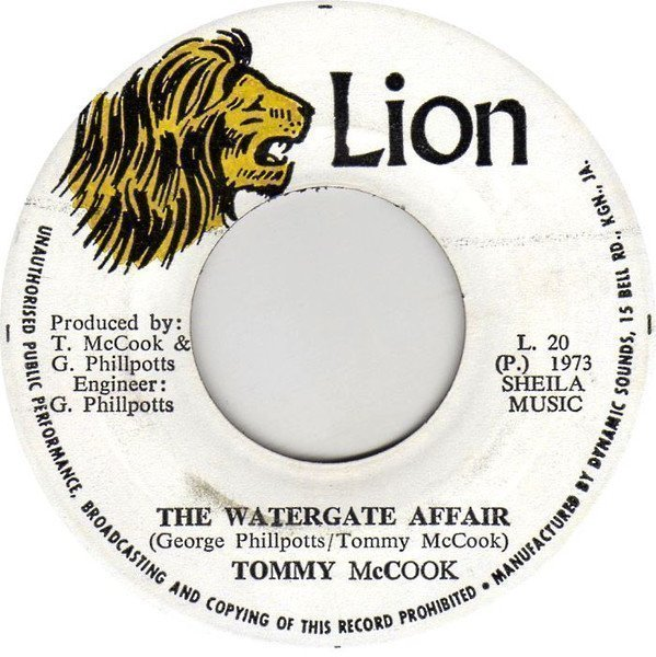 Tommy Mc Cook - The Watergate Affair