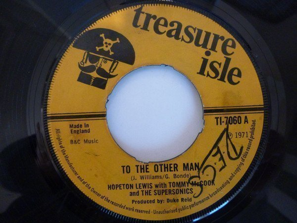 Tommy Mc Cook - To The Other Man / Stampede