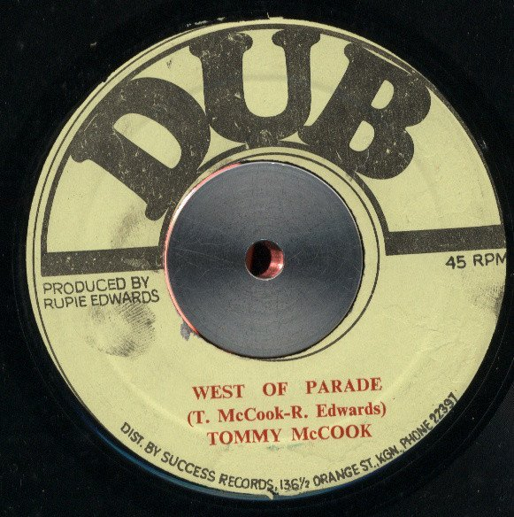 Tommy Mc Cook - West Of Parade / Bubbling Horn