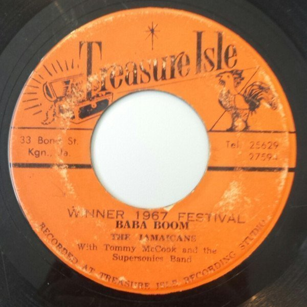 Tommy Mc Cook - Winner 1967 Festival - Baba Boom / Real Cool