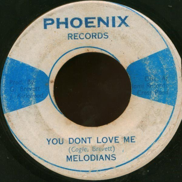Tommy Mc Cook - You Dont Love Me / Version Rock