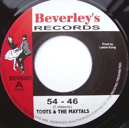 Toots And The Maytals - 54 - 46 / Pressure Drop
