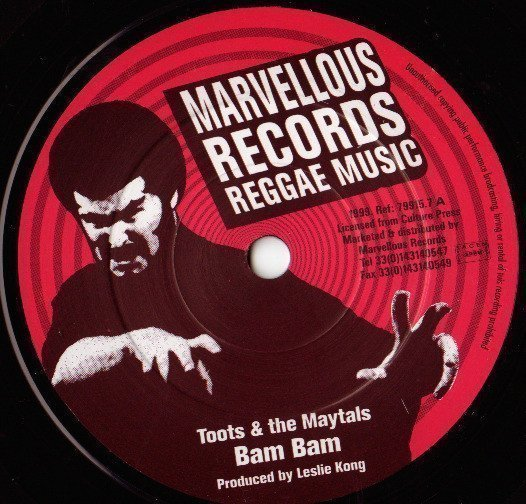 Toots And The Maytals - Bam Bam / 54 - 46