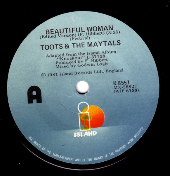 Toots And The Maytals - Beautiful Woman