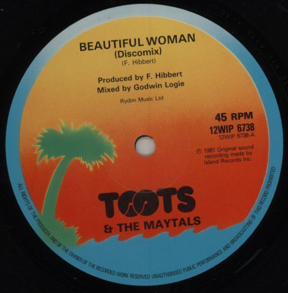 Toots And The Maytals - Beautiful Woman / Show Me The Way