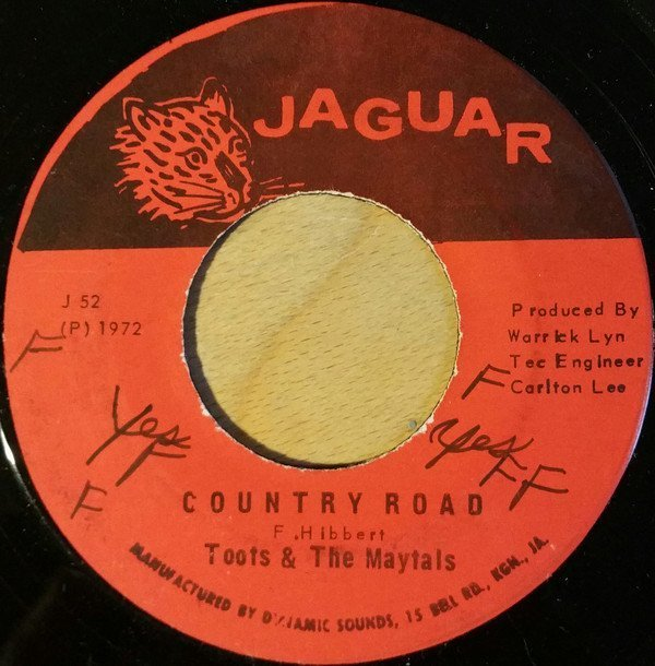 Toots And The Maytals - Country Road