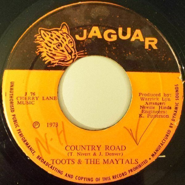 Toots And The Maytals - Country Road / Louie Louie