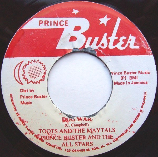 Toots And The Maytals - Dog War / Little Flea