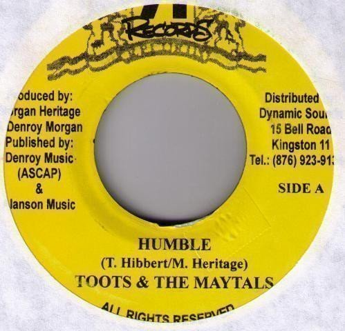 Toots And The Maytals - Humble / Respect All Woman