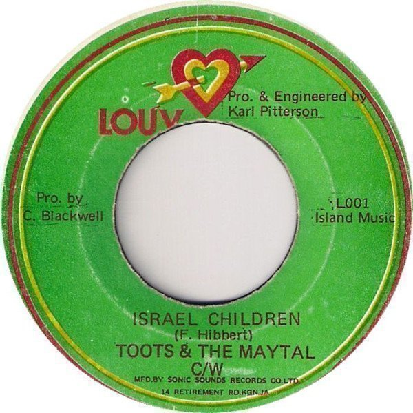 Toots And The Maytals - Israel Children / Turn It Up